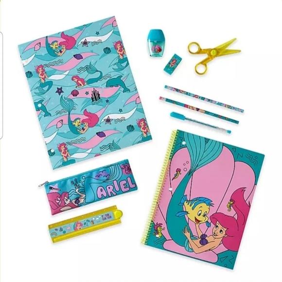 Disney Little Mermaid Stationary Set